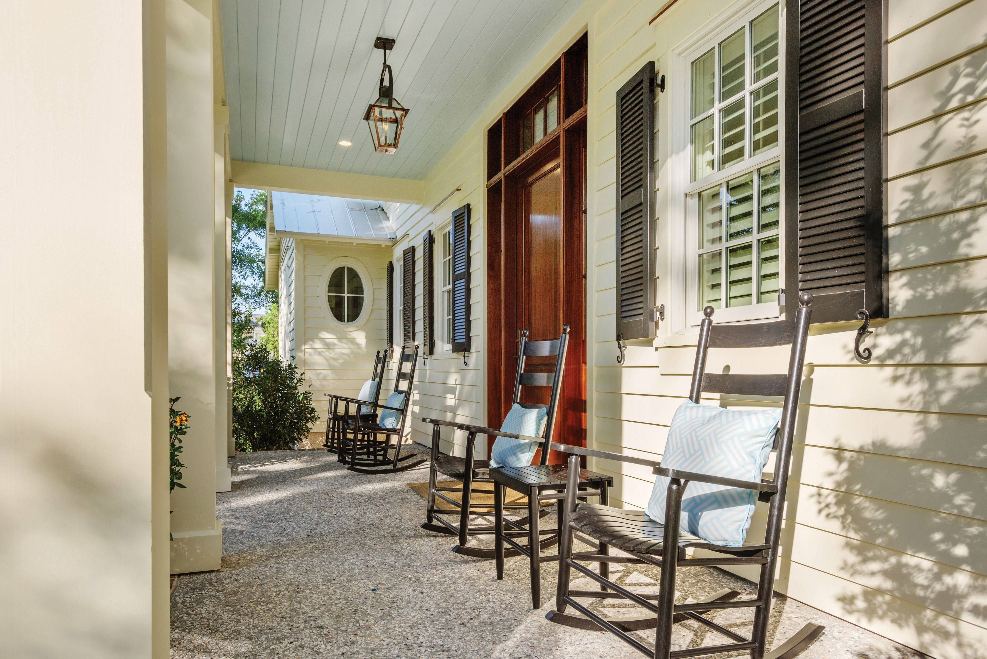 Superior Real Estate · Cozy Front Porch | Porch With Rocking Chairs | Lowcountry  Living | Southern Style | Luxury