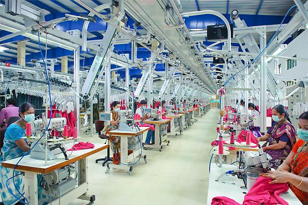 garment manufacturing industry factory garments