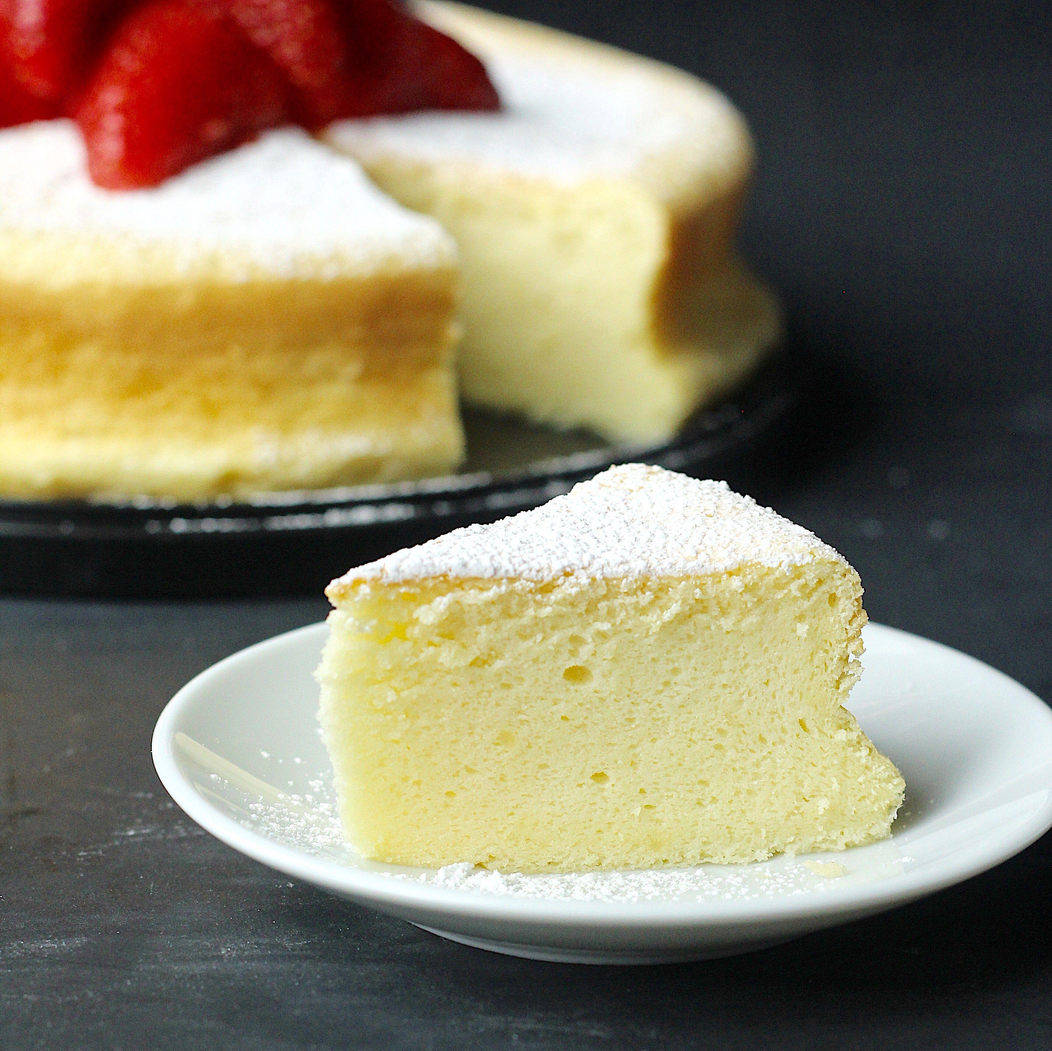 Japanese Souffle Cheesecake Recipe