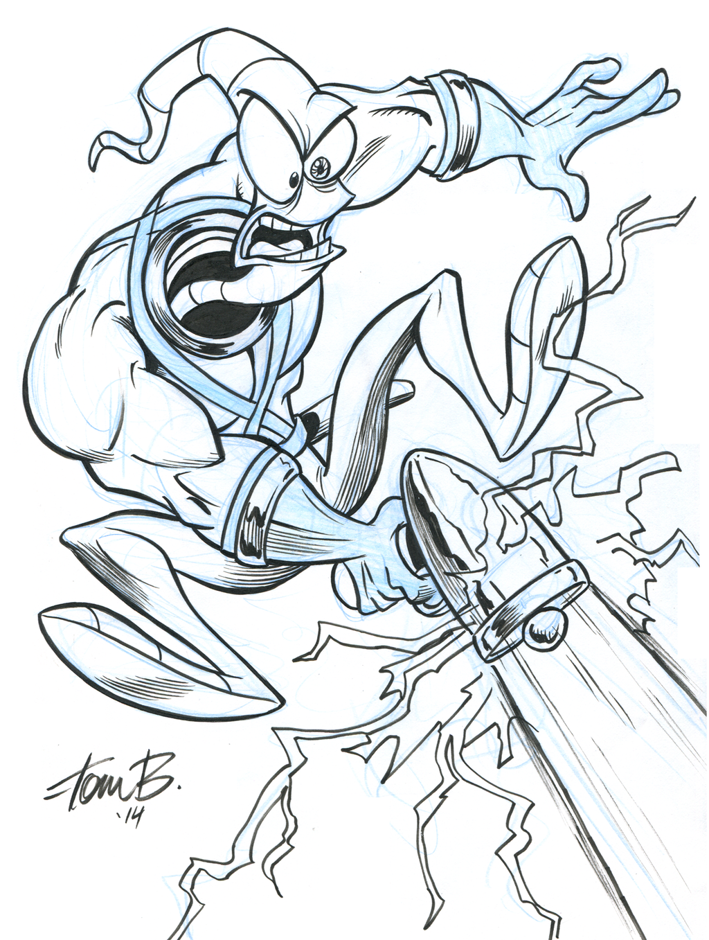 Earthworm Jim By Tombancroft On Deviantart Earthworm Jim Pop Art Drawing Animated Drawings