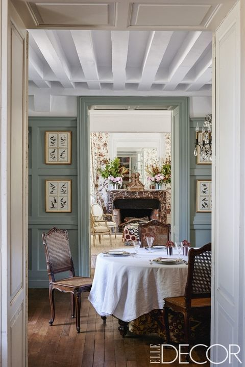 25 French Country Interiors That Inspire Rustic Chic Design