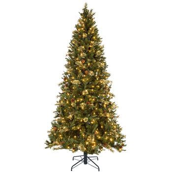 Quick Set Cashmere Sonoma Pre-Lit Christmas Tree - 7 1/2