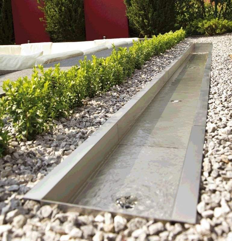 OASE OASE Edelstahl-Bachlaufschalen | DIY Gartenideen | Pinterest ...
