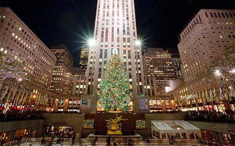 Rockefeller Center Tree Lighting Design