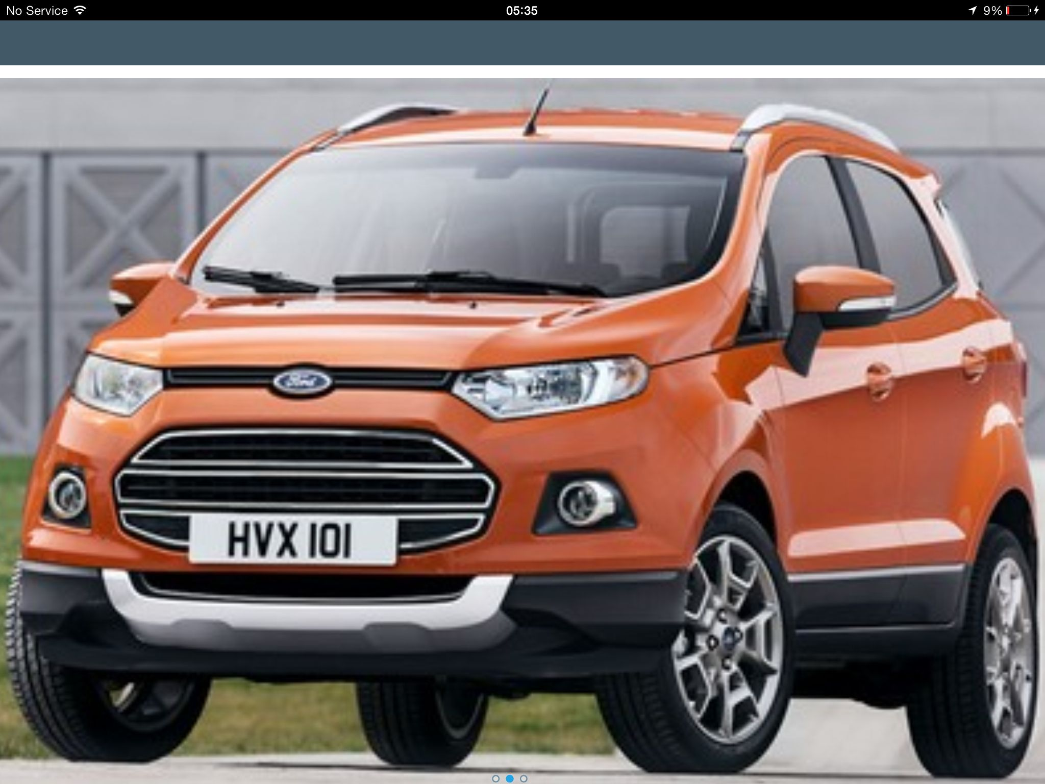 The New Baby Kuga Based On A Fiesta Ford Ecosport Suv Ford