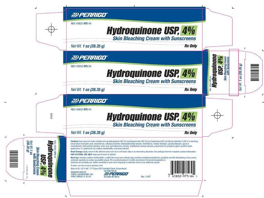 4 hydroquinone skin lightening cream