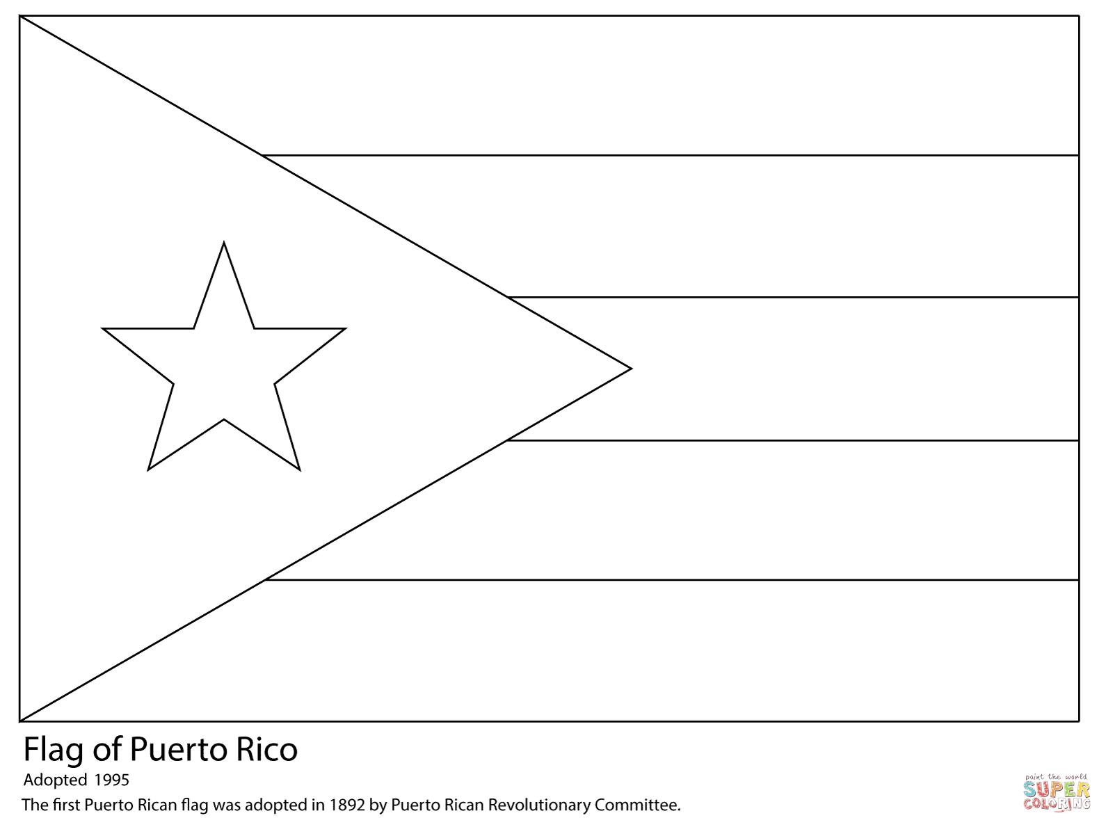 Puerto Rico Flag Coloring Page Free Printable Coloring Pages Flag Coloring Pages Puerto Rican Flag Puerto Rico Flag