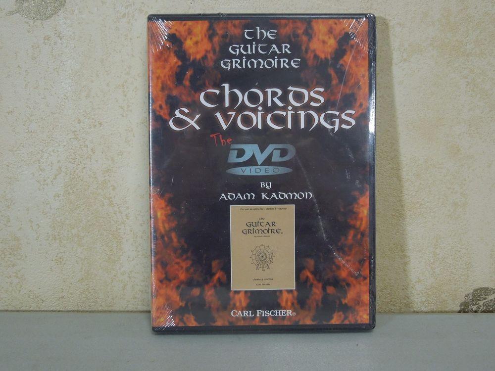 Adam Kadmon The Guitar Grimoire Chords And Voicings Dvd Video