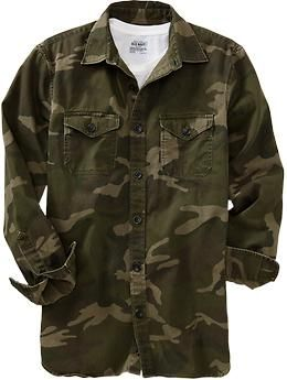 Men s Camouflage Shirt Jackets  b88676a94b2