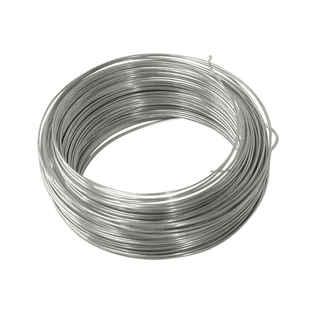 Ook 100 Ft 10 Lb 24 Gauge Galvanized Steel Wire 50136 The Home Depot Galvanized Galvanized Iron Body Jewelry Shop