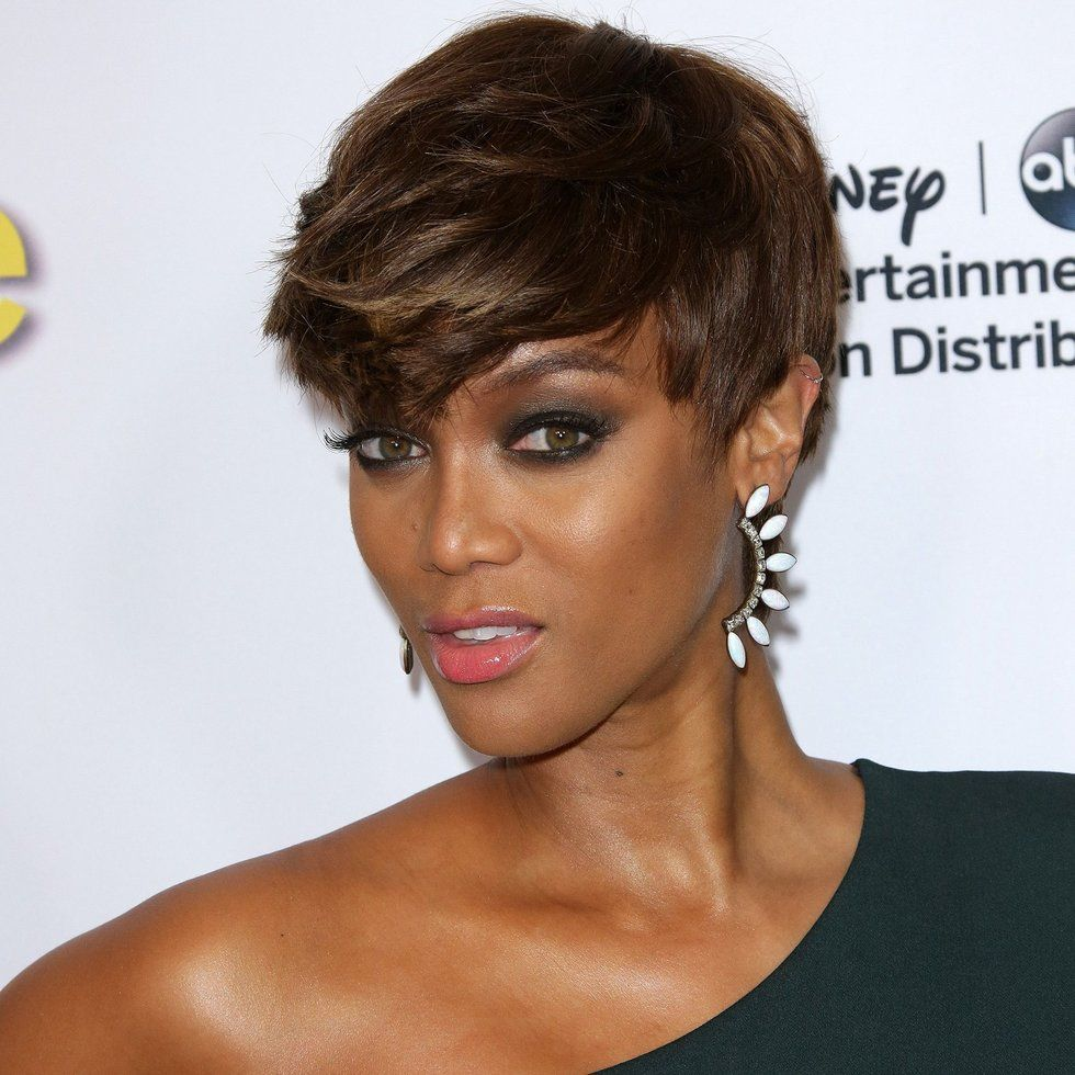 the best celebrity pixie hair cuts and crops | tyra bank, pixies