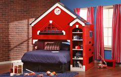 Firestation Bunk Bed by Furniture Row maxs wish list