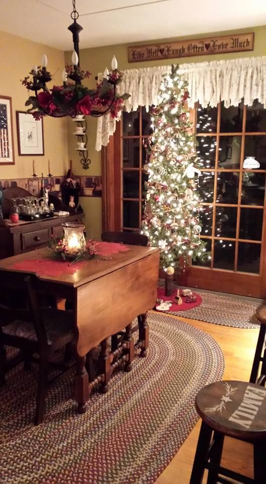 Amy Brown Christmas Dining RoomsChristmas Table