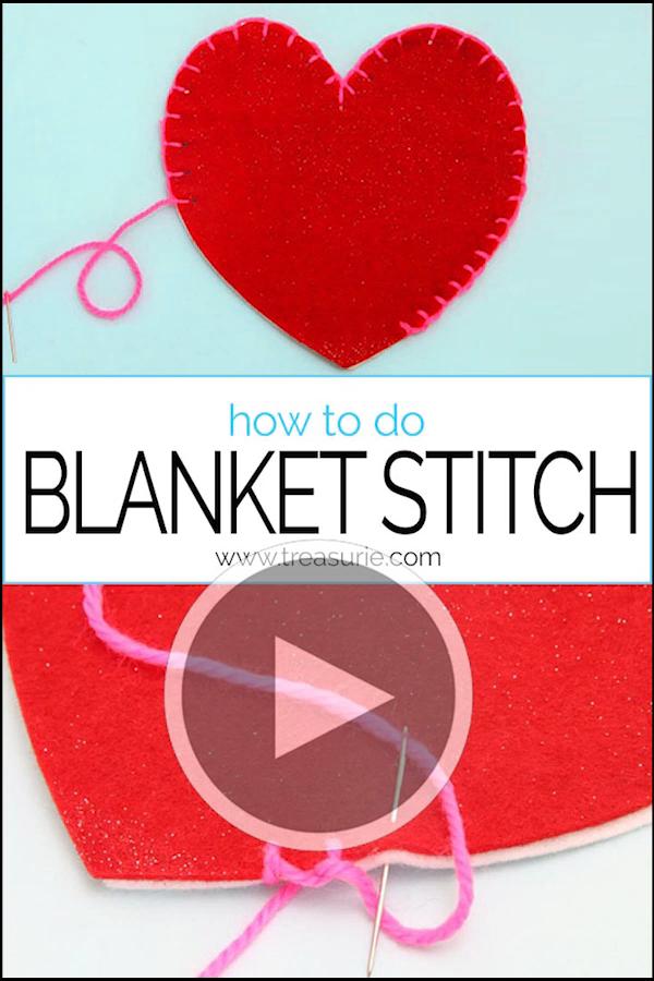 Photo of {BLANKET STITCH} How to do Blanket Stitch TUTORIAL
