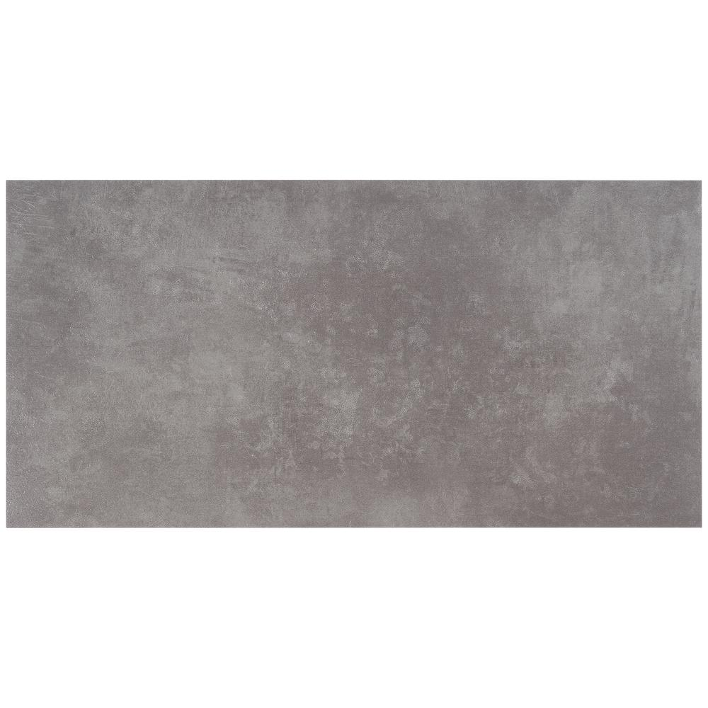 Ivy Hill Tile Duren 28mil Concreto Grafito 18 In X 36 In Glue Down Luxury Vinyl Tile Flooring 36 Sq Ft Ext3rd105485 The Home Depot Luxury Vinyl Tile Vinyl Tile Vinyl Tile Flooring