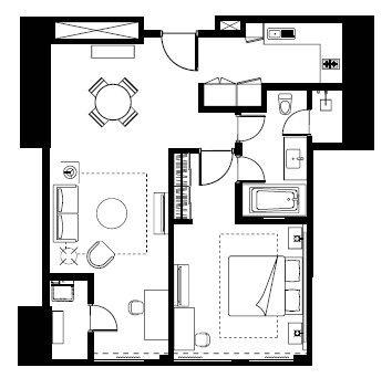 Serviced Apartments In Jakarta Bedroom Executive Ascott