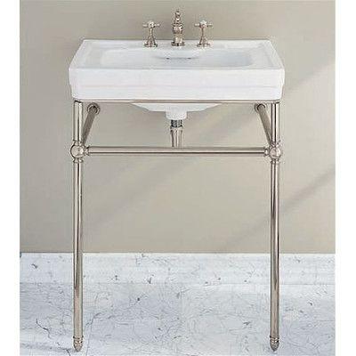 Charmant Porcher Lutezia Console Bathroom Sink Set   24540 | Wayfair