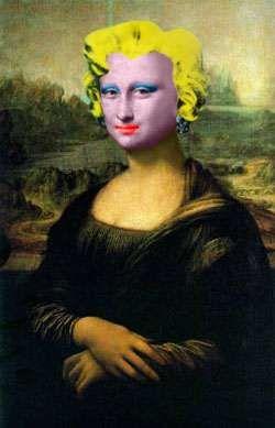 Mona Lisa: Marilyn Monroe