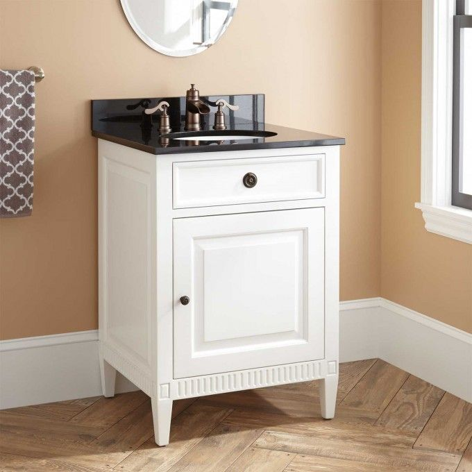 24 Quot Hawkins Mahogany Vanity For Undermount Sink White
