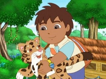 """Go Diego Go!: Season 1: """"Baby Jaguar to the Rescue"""" 