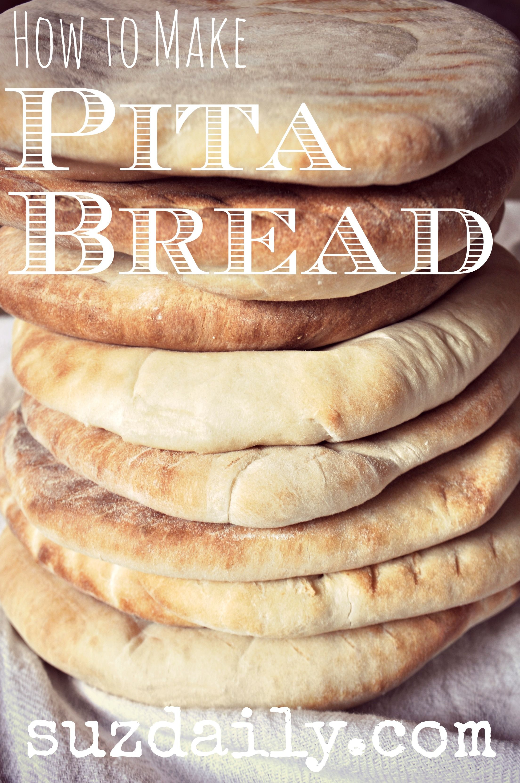 Pita bread made in a food processor bread pinterest food pita bread made in a food processor forumfinder Choice Image