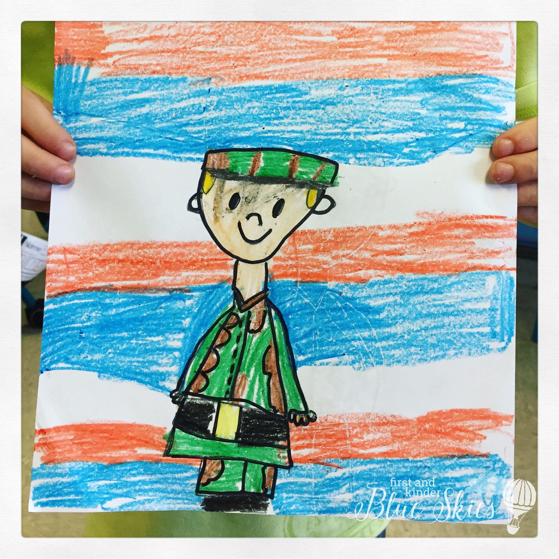 Veteran S Day Directed Drawing For Students To Complete As