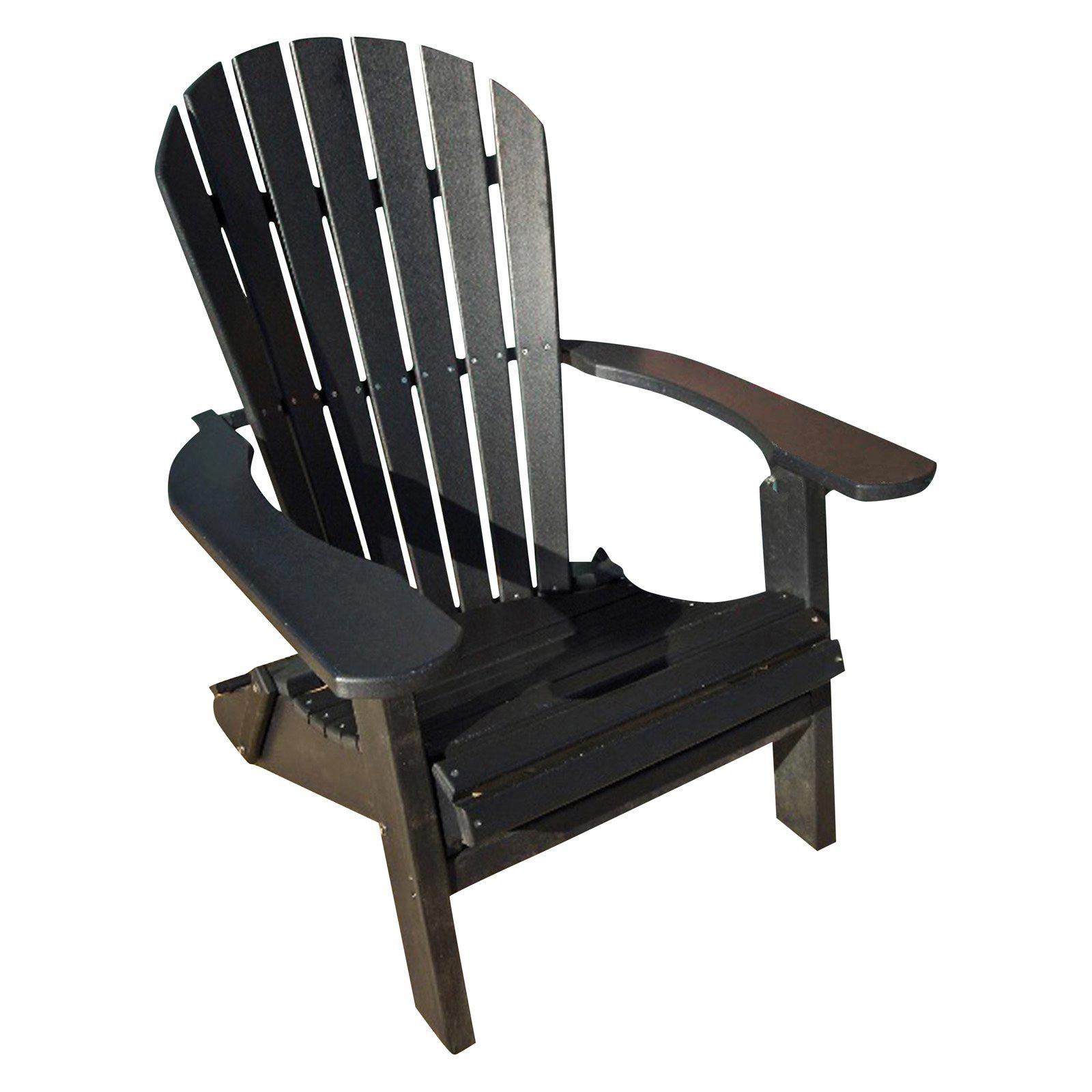 Outdoor Phat Tommy Recycled Plastic Deluxe Folding Adirondack