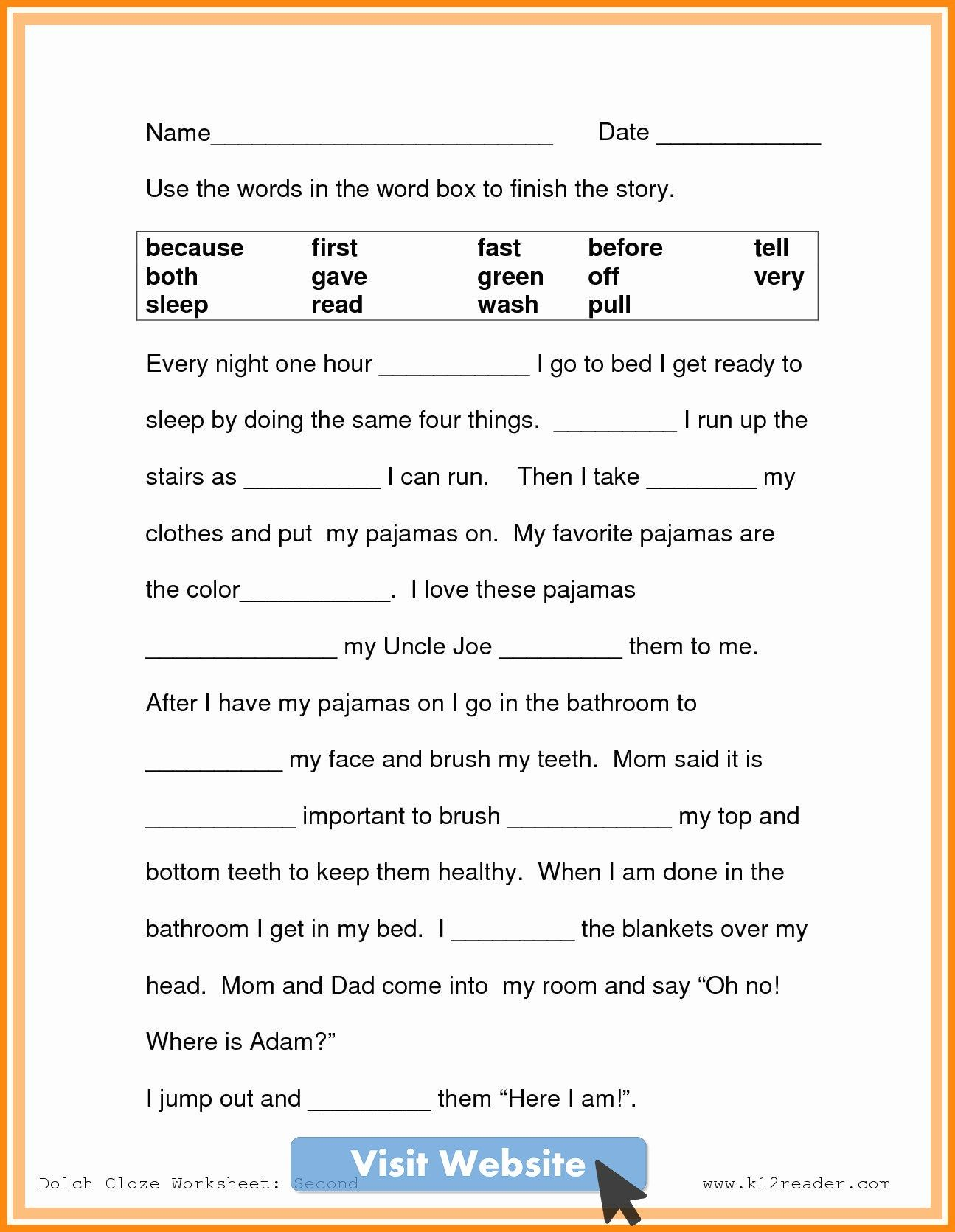 2nd grade math worksheets free addition and subtraction   2nd grade reading  worksheets [ 1670 x 1295 Pixel ]
