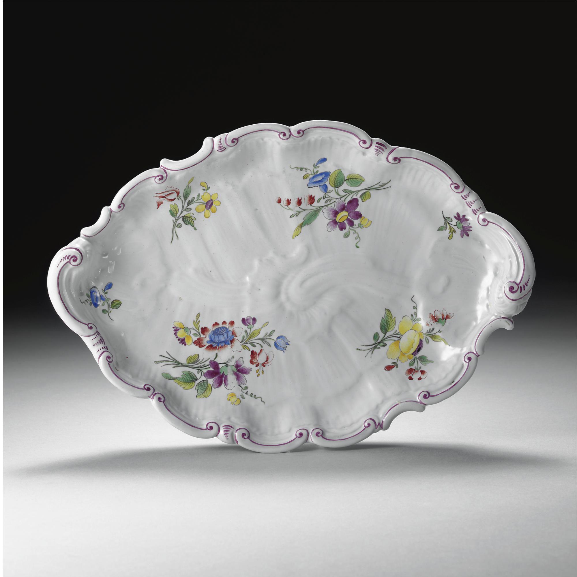 A Doccia Porcelain Dish Circa 1770 Doccia Porcellana