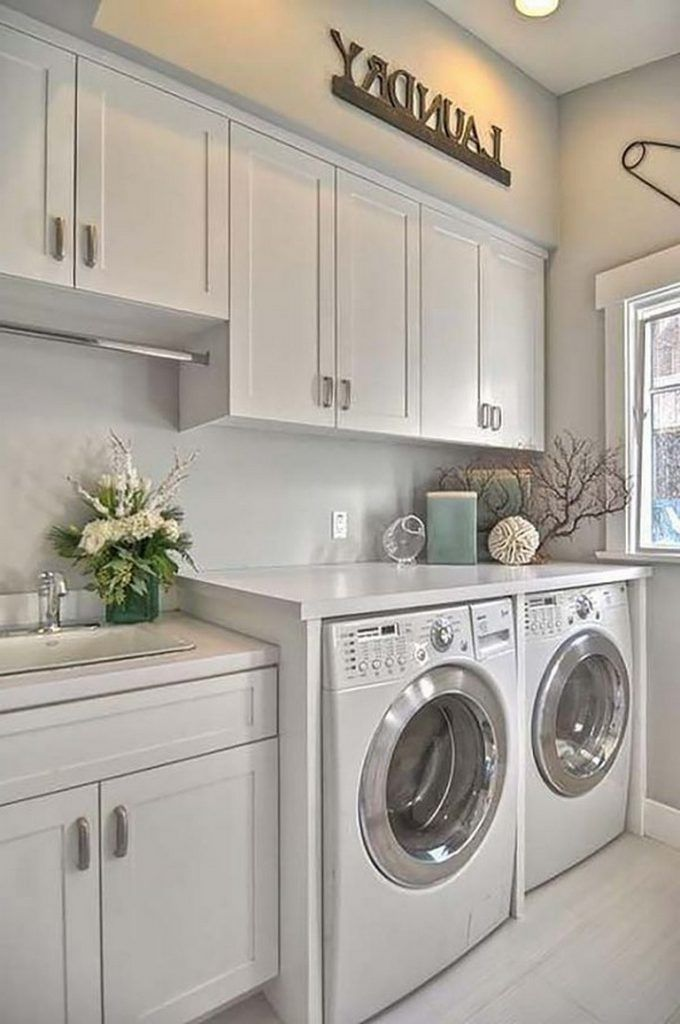 38+ Inspiring Remarkable Laundry Room Layout Ideas for The Perfect Home Drop Zones #laundryrooms
