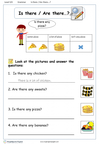 There Is There Are English Pinterest Worksheets – Cute766