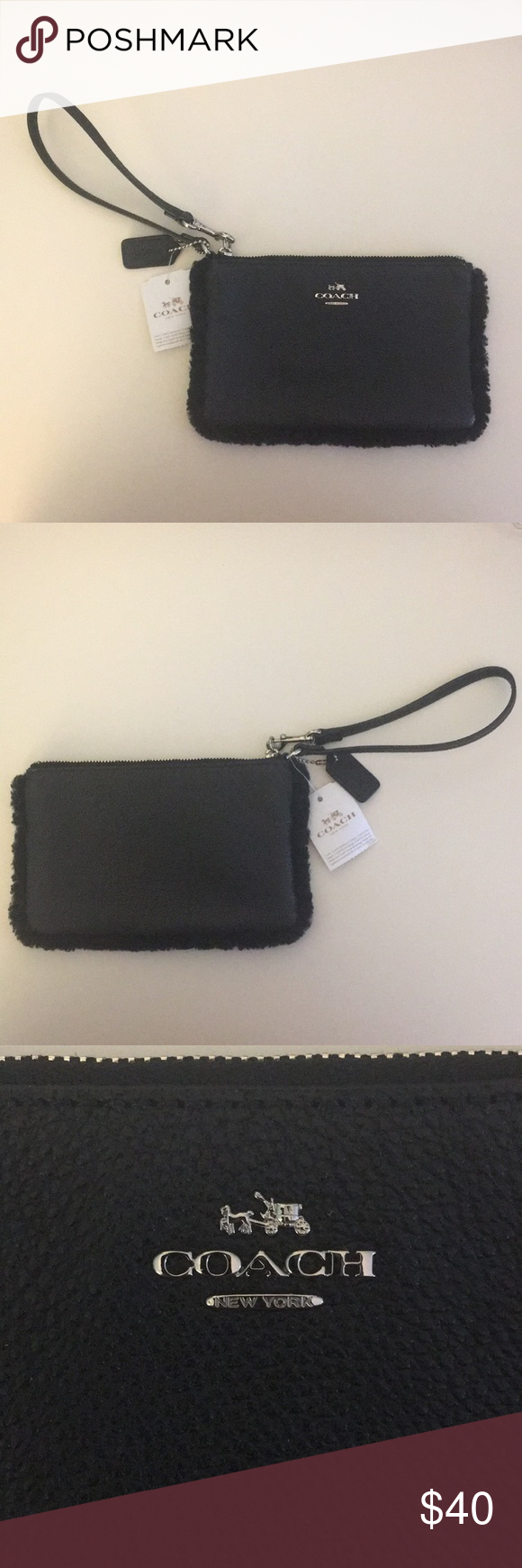 a6b407443fc Brand New Black Coach Wristlet Brand new Coach wristlet never used with  tags still attached!