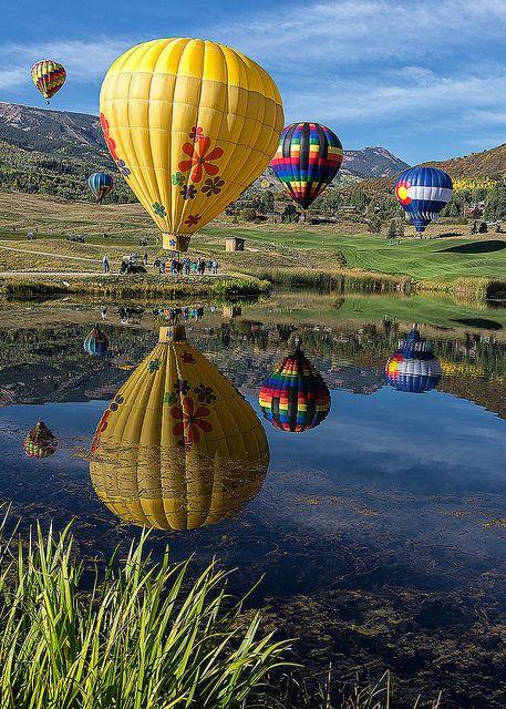 Snowmass Balloon Festival in 2020 Air balloon, Hot air