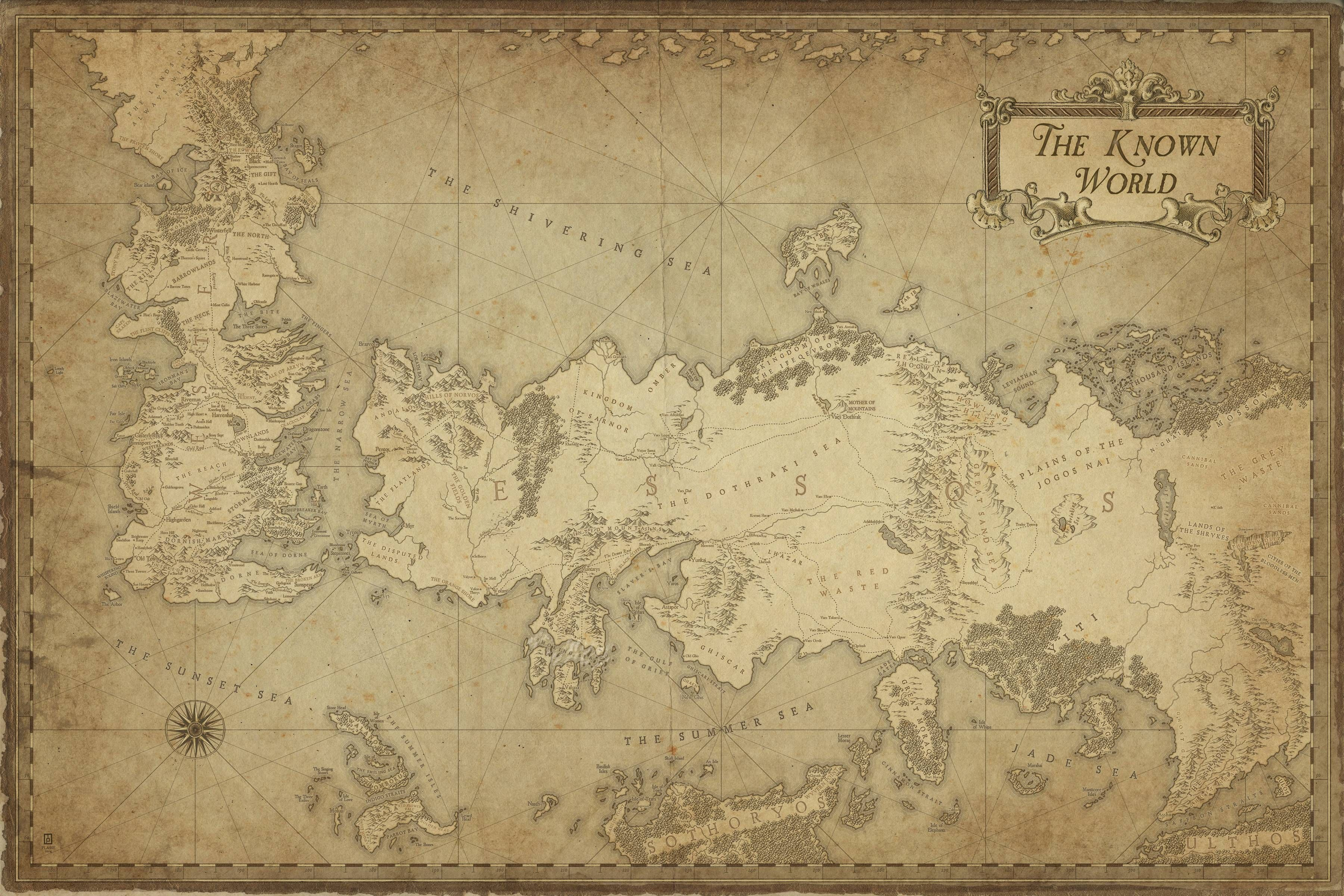 Map of the known world ice and fire matrimonio autunno pinterest map of the known world ice and fire gumiabroncs Gallery