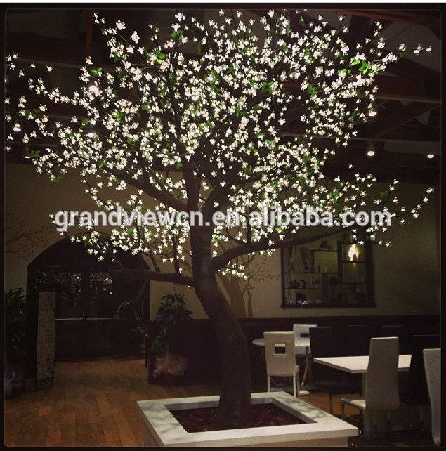 Image Result For 12 Foot Led Cherry Tree Backyard Branch Decor Tree Lighting