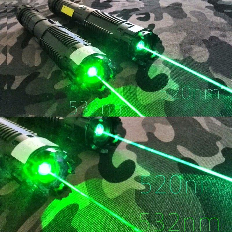 520nm Strongest Green Handheld Focus Adjustable Laser Torch With Safety Key Laser Pointer Laser Tech Design