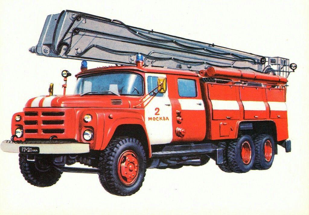 приемы пожарная машина фото рисунок без укладки будет