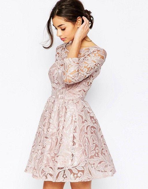 Chi chi london damen kleid sequin mini