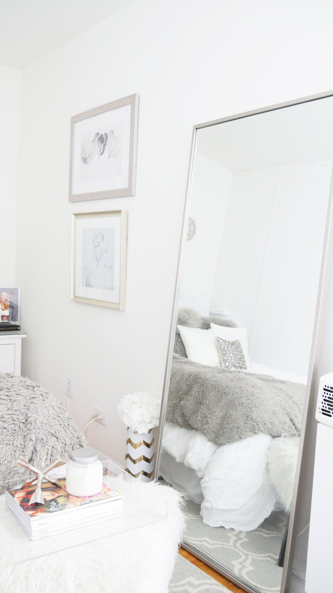 Quick Fixes to Turn a Tacky Bedroom Into an Oasis Studio