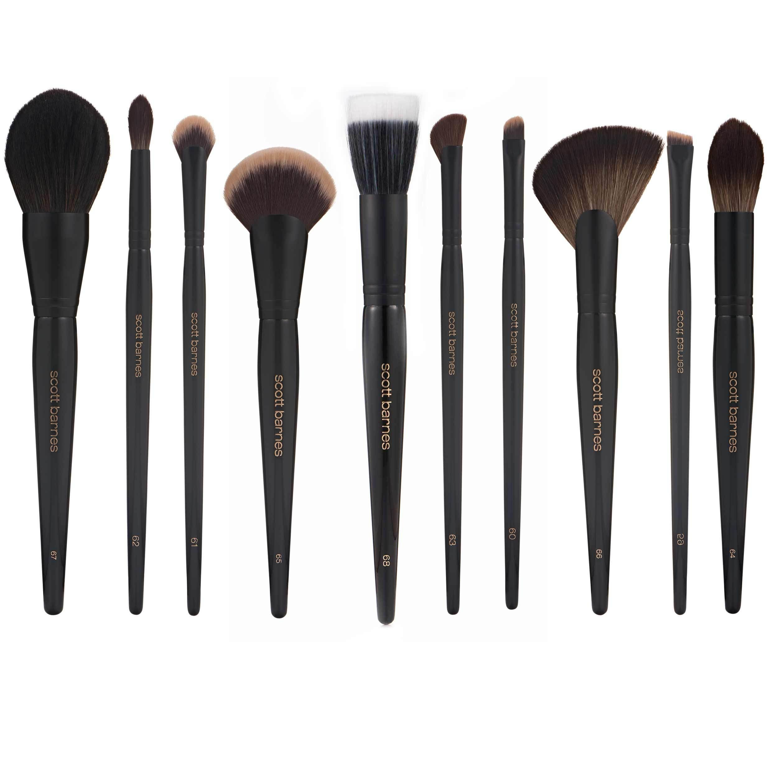 The Complete Pro Series Set 10 Brushes How to clean