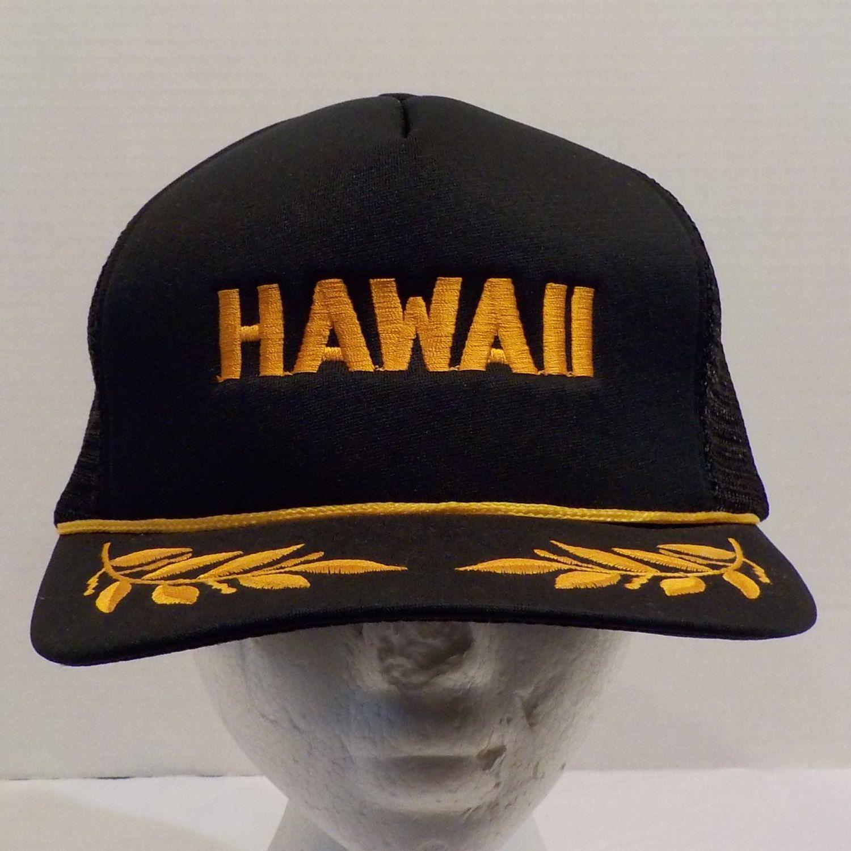 Hawaii Vintage Hat Cap Snapback Hats, Snapback, Cap