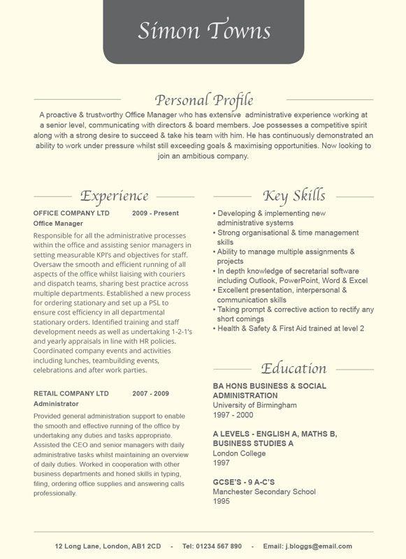 fancy script cv    resume design cream from hashtag cv