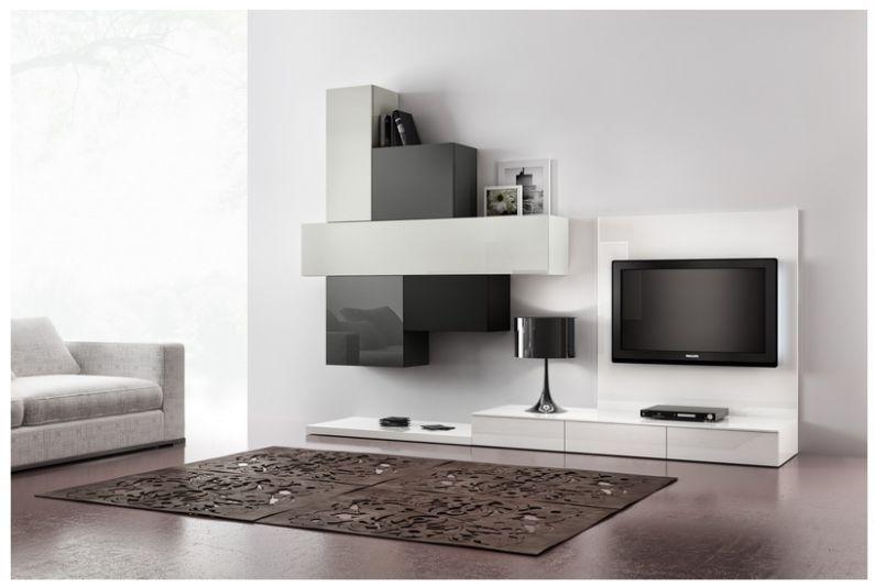 parete attrezzata moderna - Cerca con Google | Tv Üniteleri ...