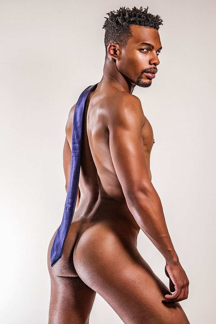 Hot black male ass