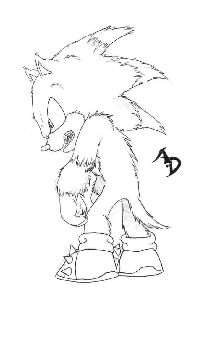 Scary Werewolf Coloring Pages | Werewolf, Princess ...