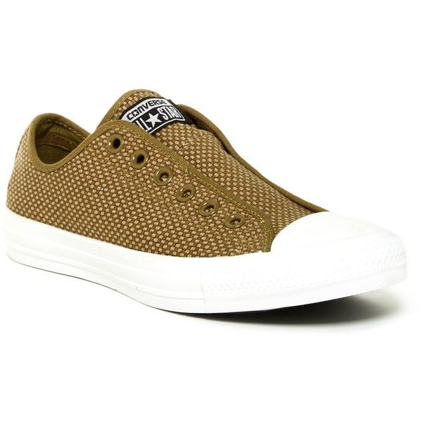 Cheap Converse All Star Ox Woven Slip On Cactus