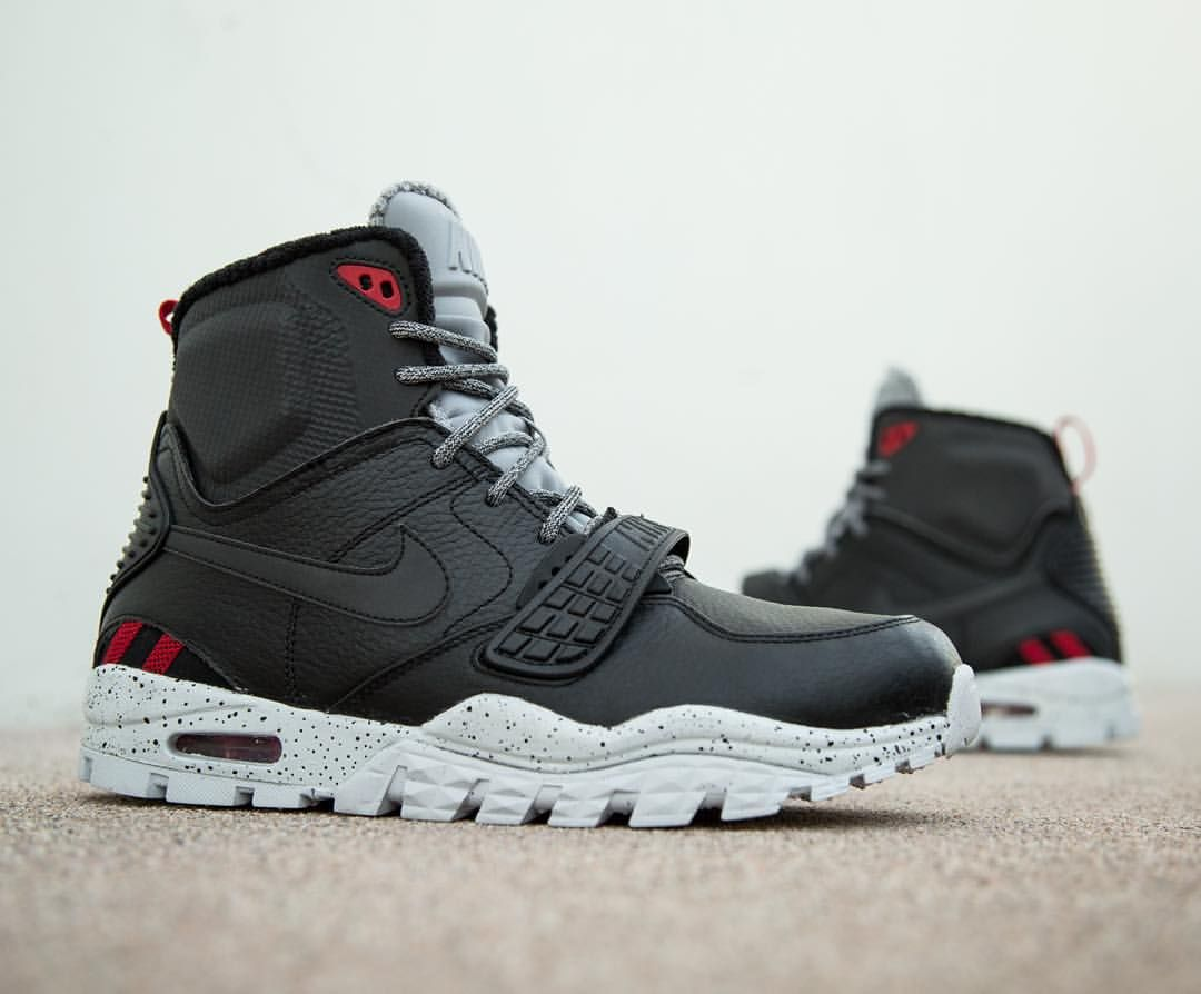 Nike Air Trainer SC 2 Boot: blackpure platinumwolf grey