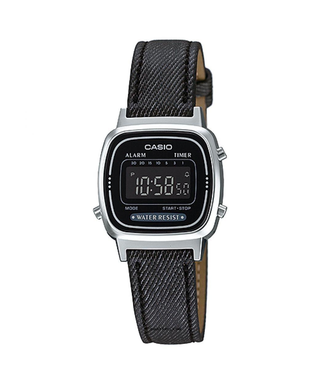 Casio Retro La670wl 1bdf Kol Saati Bayan Saatleri Retro Kadin