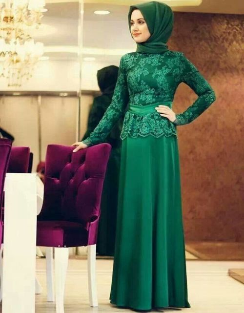 Inspirasi Model Kebaya Muslim Modern Pesta Fashion Baju