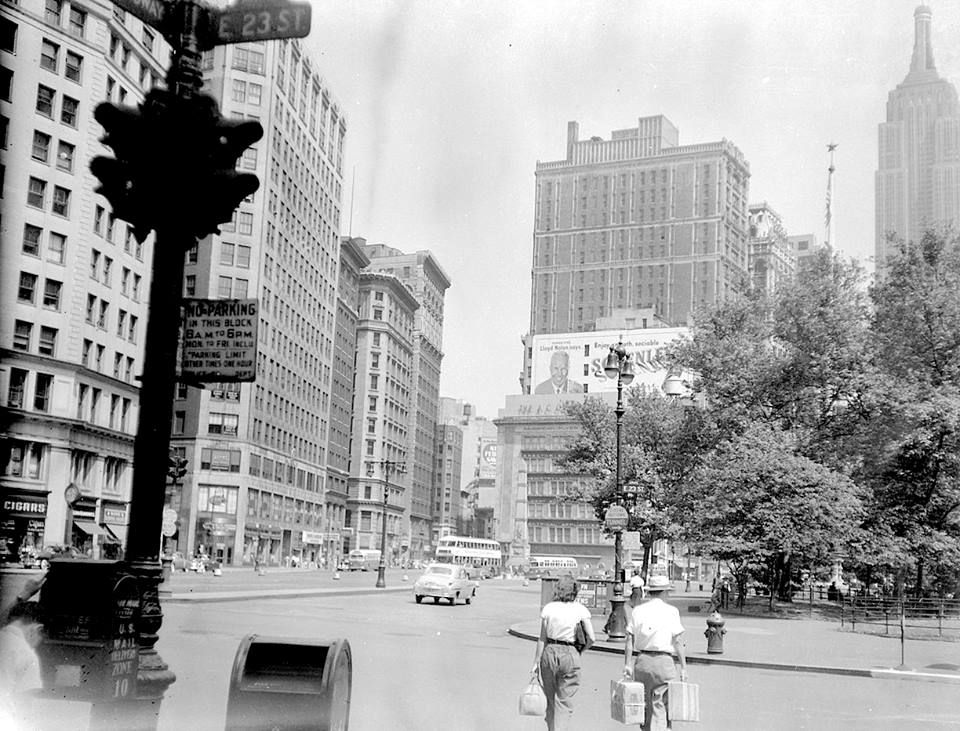 Broadway And 23rd Street (Not dated -c 1950s?) -photographer unknown